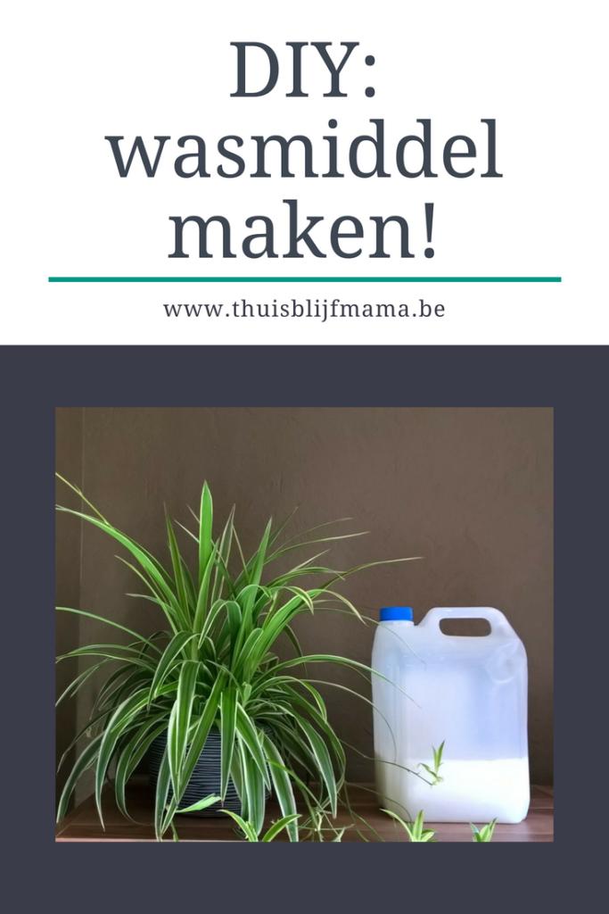 Wasmiddel maken