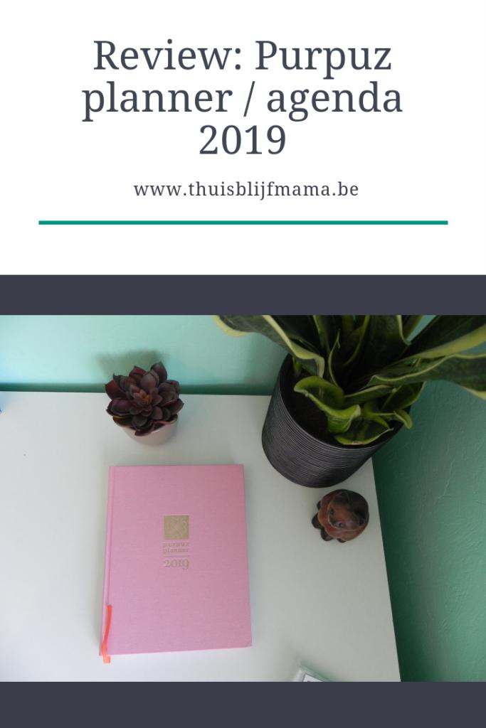 Purpuz planner / agenda 2019